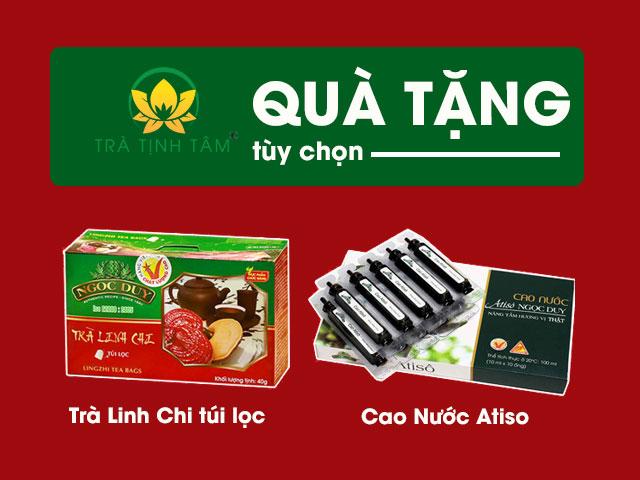 Quà Tặng Khi mua 1kg cao mềm Atiso Ngọc Duy