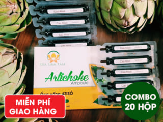Combo 20 hộp Ống Uống Atiso