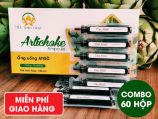 Combo 60 hộp Ống Uống Atiso