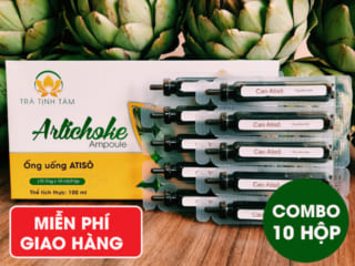 Combo 10 hộp ống uống atiso