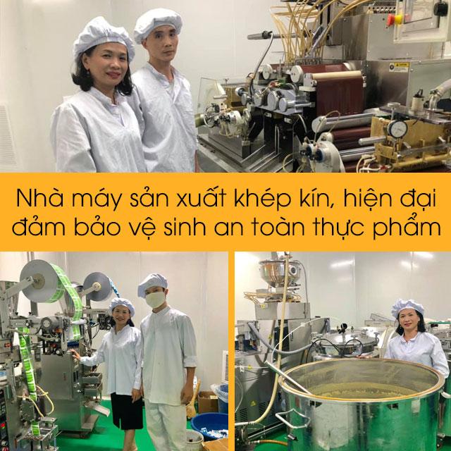 Nhà máy sản xuất Cao Cà Gai Leo An Xuân